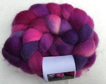 Hand dyed Eider wool tops