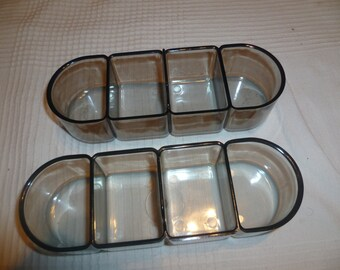Horn sewing machine Cabinet storage trays x 2