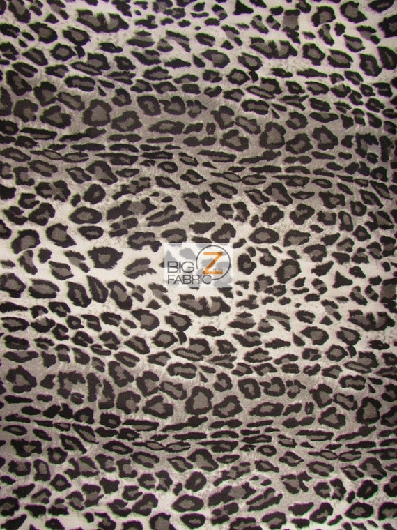 Vinyl Faux Fake Leather Pleather Embossed Leopard Cheetah