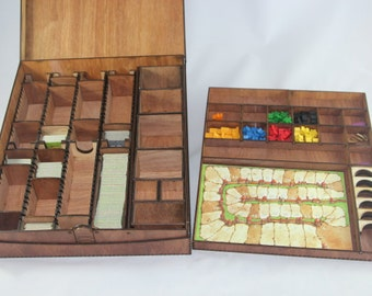 Carcassonne Big Box - storage for the Carcassonne game - tiles, Meeples, dividers and more!
