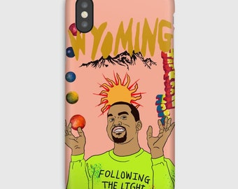 Kanye West Wyoming iPhone Case X 8 7 6 6s Plus Phone Cases Hip Hop Art Hypebeast Gucci Louis Vuitton Bape Supreme Migos Drake Kendrick Lamar