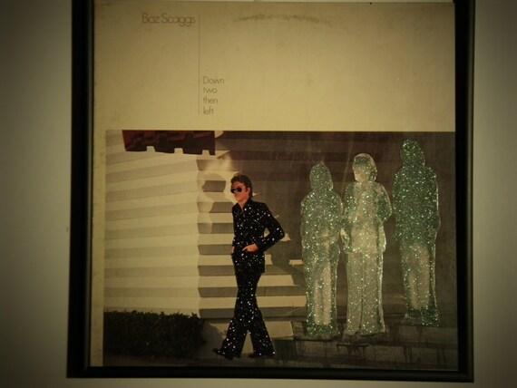 Glittered Record Album - Boz Skaggs - Down two then left