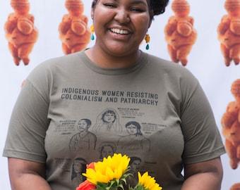 Femmes autochtones résistant colonialisme T-Shirt 2 XS-3XL