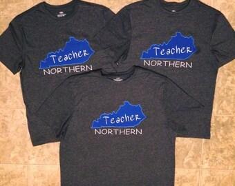 KY Teacher T-Shirt (Pick Your School)