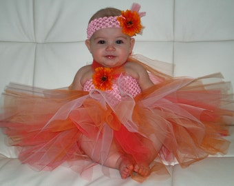 Tutu Dress, Baby Toddler Clothing, Pageant Dress, Easter Dress, Birthday, Photo Prop,3 months to 12 months