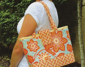Mini Miranda Bag Pattern by Joan Hawley, Lazy Girl Designs, Purse