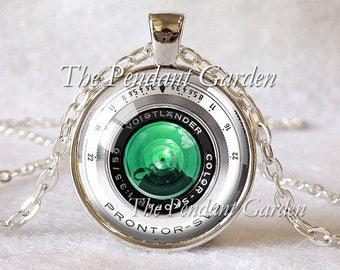 VINTAGE CAMERA LENS Pendant Camera Pendant Voigtlander Lens Photography Pendant Wedding Photographer Gift for Photographer Not Actual Lens