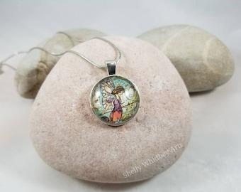Magical fairy pendant