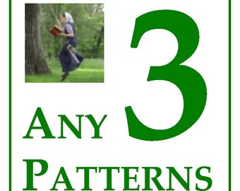 10% OFF ANY 3 CROCHET Patterns -- the Jewell's Handmades