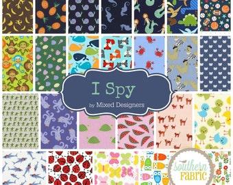 I Spy Scrap Bag Scraps-- Scrap Bag Quilt Fabric