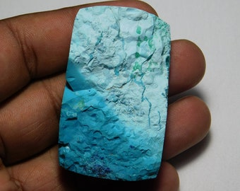 Natural Azurite druzy loose gemstone Top Azurite loose stone Blue Azurite druzy Natural Azurite cabochon gemstone 213 Cts.