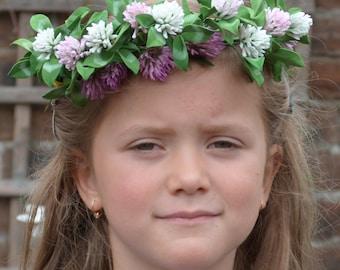 Hair Wreath, Flower Hair Wreath, Bridal Hair Wreath, Hair Accessories,Bridal wreath, Bridal Hair , Girl's Hair Clip