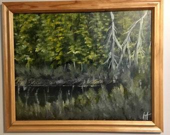 Vermont Swamp Paintin