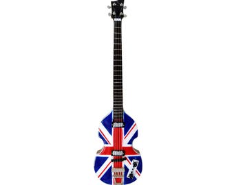 Miniature Guitar Replica: Paul McCartney - Hofner Jubilee Bass