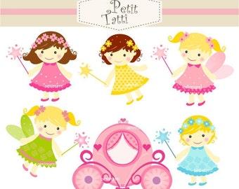 ON SALE; cute baby girl clipart - cute fairy clipart , INSTANT Download, Digital clipart, fairies fairies , fairy girl clipart