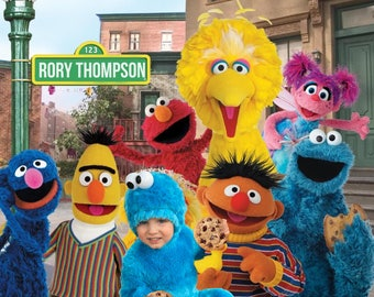 Sesame Street Poster: Fully Customizable Sesame Street Photo Composite
