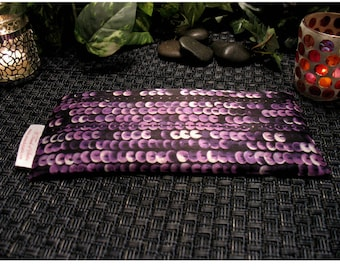 Unscented Flaxseed Eye Pillow. Expecting Mom Gift. Aromatherapy. Pillow. Natural Remedies for Headache Pain, Tension Relief.
