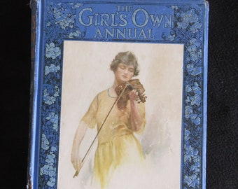 Girls Own Annual 1888  Illustrated First Edition