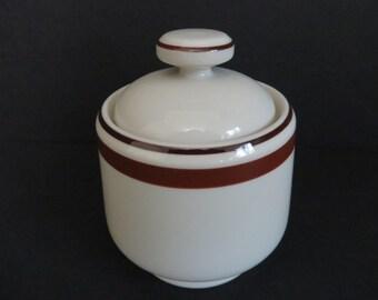 Sienna Galaxy Stoneware Sugar Bowl Japan
