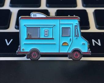 Soft enamel Taco Truck pin