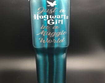 Hogwarts Girl 30oz Steel Tumbler
