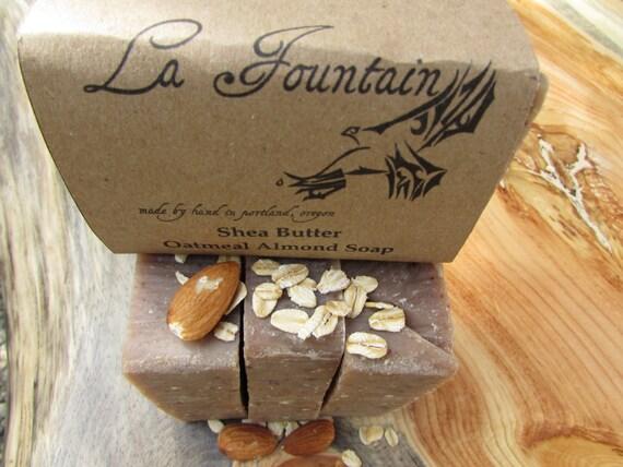 Shea Butter Almond Soap - Organic Soap