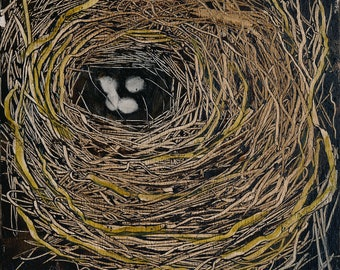 Nest Oil Painting