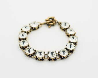 Trendy Mini Clear Crystal Bracelet