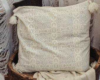 32x32 Decorative Throw Pillow Cover Meditation Cushion Large