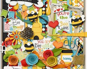 The Bees Knees Everyday Beautiful Day Digital Scrapbook Kit