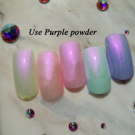 1g/jar sirena uñas brillo polvo PrettyGlitters pigmento polvo