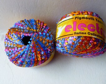 Sale  Rainbow 6 Electra The Italian Collecton by Plymouth Yarn