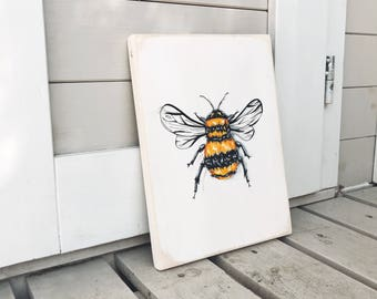 Bee Painting/ Ilustration
