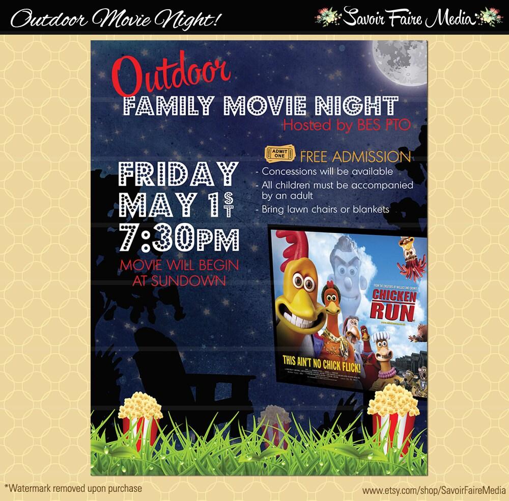 movie night poster ideas - Romeo.landinez.co