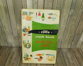 Cutco Cookbook 1961 Meat and Poultry Cookery Recipes Volume One