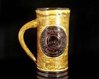 Stoneware Pirate Creed Mug