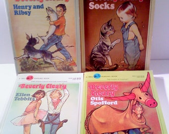 Books- Beverly Cleary, Set of 4
