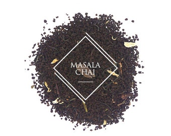Masala Chai Tea, Loose Leaf Tea, Black Tea