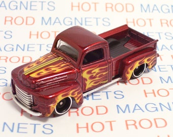 1949 Ford F1 Pickup Truck : Hot Rod, Man Cave, Refrigerator, Tool Box, Magnet