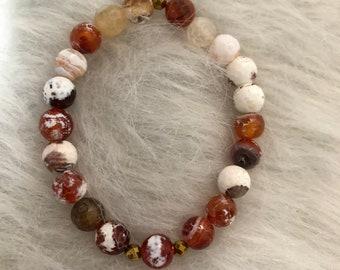 SALE orange bracelet