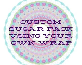 Custom Sugar Pack