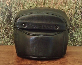 Vintage ROLLEIFLEX SL26 Black Leather Camera Case, Circa: 1968 - 1973, Very Rare and in Excellent Condition!