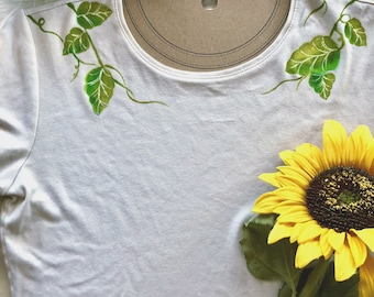 """Upcycled """"Vines"""" Tee"""