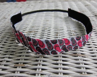 Pink Flip Flop Headband -  Girls Summer Headband