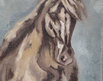 At A Gallop - original oil painting