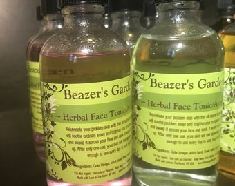 Face Toner - Natural Face Cleanser - Makeup Remover - Face Astringent - Oily Skin care - Teen Skincare - Daily Beauty Treatment - mens skin