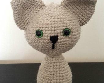 Crochet Baby Blanket crochet cat amigurumi cat