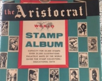 1956 Stamp Album - 900 Stamps
