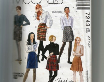 McCall's  Misses' Wrap Skirt Pattern 7243