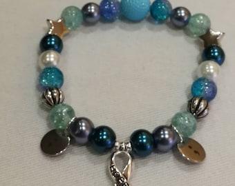 Anxiety/PTSD Awareness Bracelet